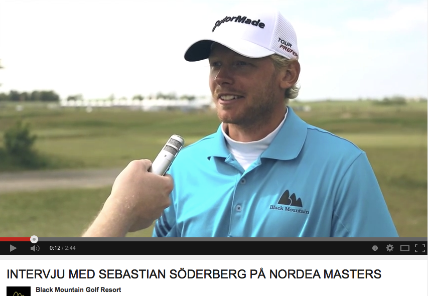 Screenshot: youtube.com - Nordea Masters 2014