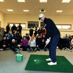 Seminar with young golf players at Delsjö Golf Club - Photo: Peter Östlund, Swedish Golf Team