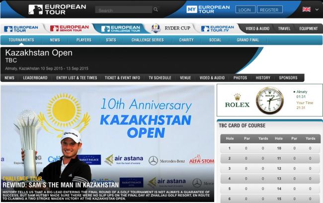 Bild Kazakhstan Open