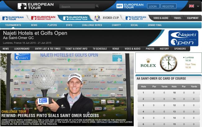 Bild Najeti Hotels et Golfs Open