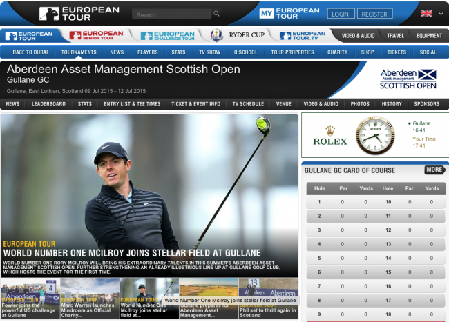 Bild Scottish Open