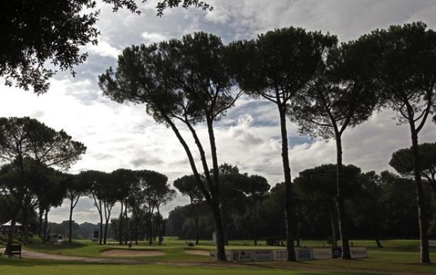 Italien Olgiata Golf Club norr om Rom