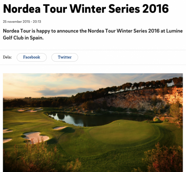 Bild Nordea Tour Winter Series