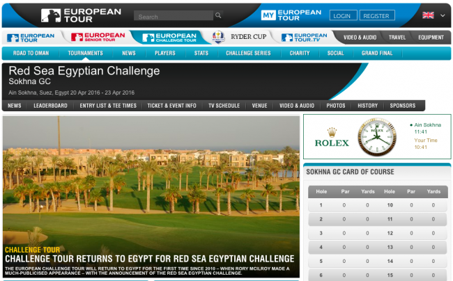 Bild Red Sea Egyptian Challenge 2016