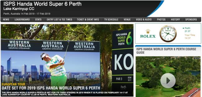 2019 ISPS Handa World Super 6 Perth, Australia (ET) – T102