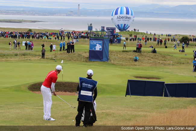 Scottish open, Photo LG Aasa